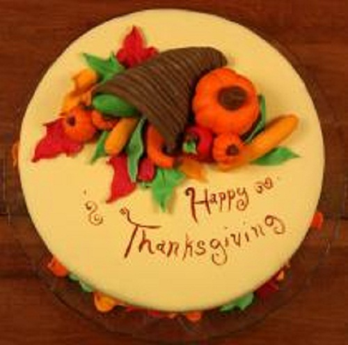 Mini Thanksgiving Cake Ideas
