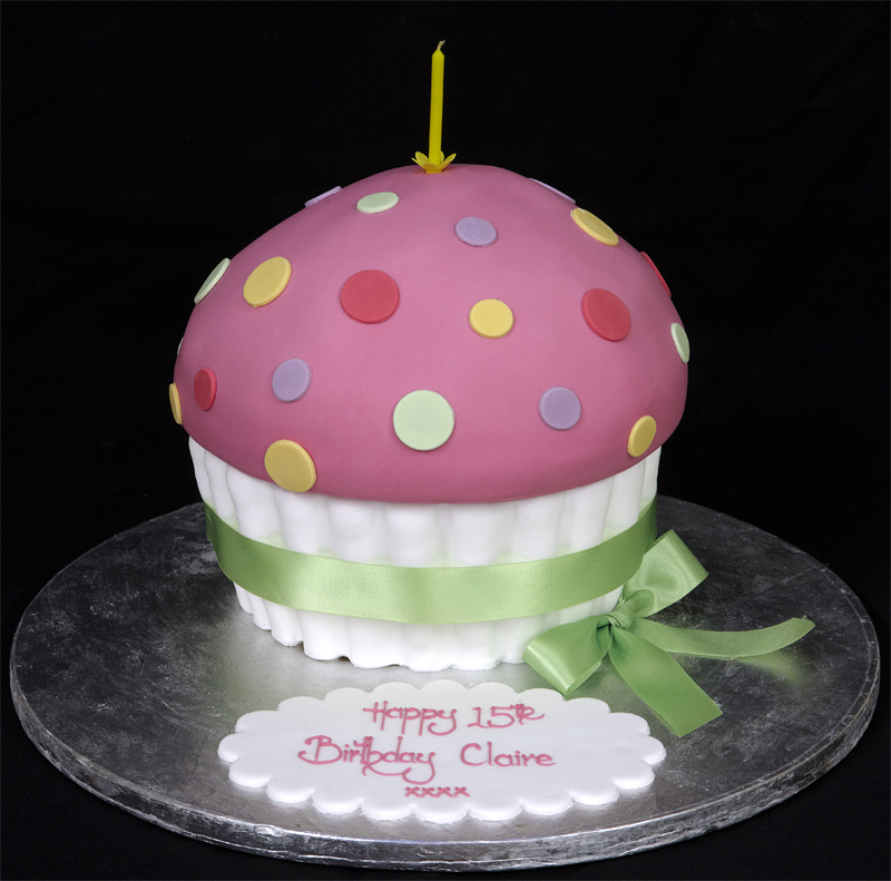 Pink Small Birthday Cake