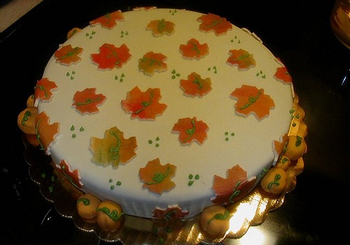 Thanksgiving Cake Ideas Design