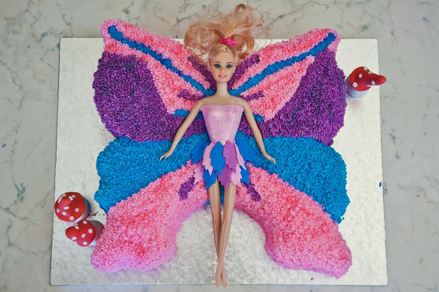 Tinkerbell Birthday Cake for Girls