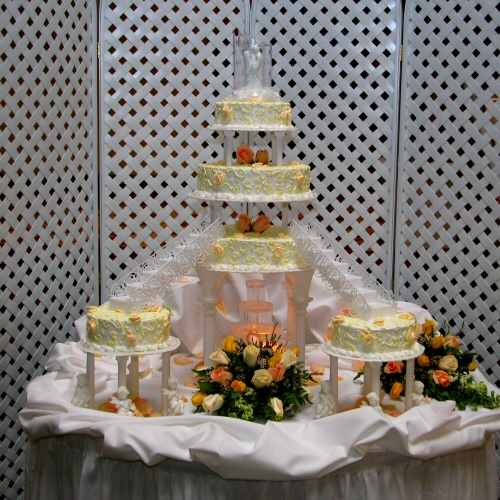 Wedding Cakes Stairs