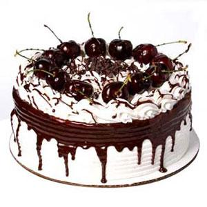 White Black Forest Cake