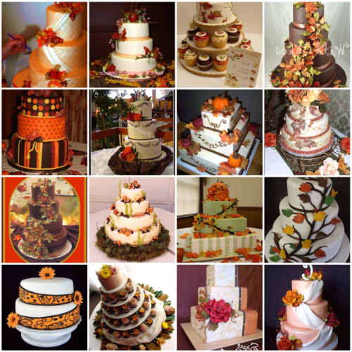 Fall Themed Wedding Cakes - Best of Cake