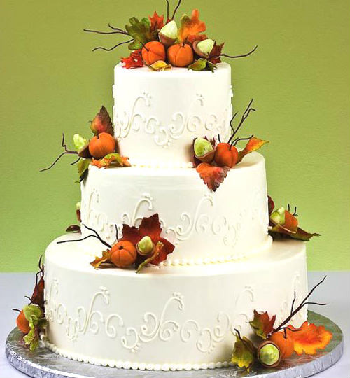 Fall Themed Wedding Cakes Best Of Cake