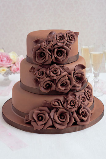 chocolate wedding cakes recipe chocolate wedding cakes 12797