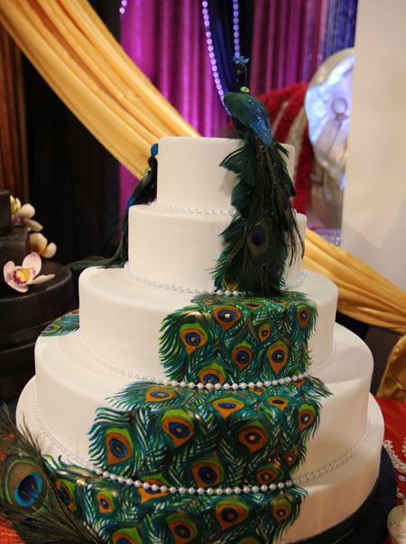peacock wedding cakes designs peacock wedding cakes best of cake 18160