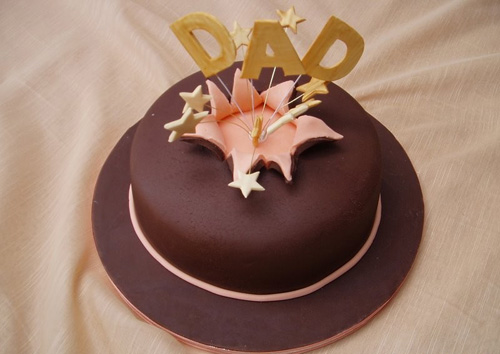 Birthday-Cake-for-Dad-Simple | Birthday stuff | Pinterest