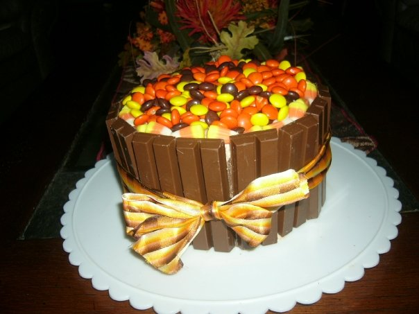 Thanksgiving Cake Ideas Getting Warmer With The Cake