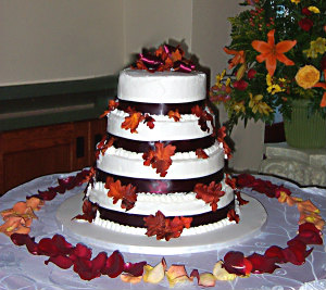 easy fall wedding cake ideas fall themed wedding cakes best of cake 13812